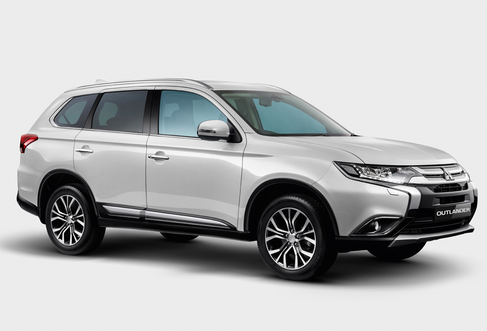 Enhanced Mitsubishi Outlander SUV