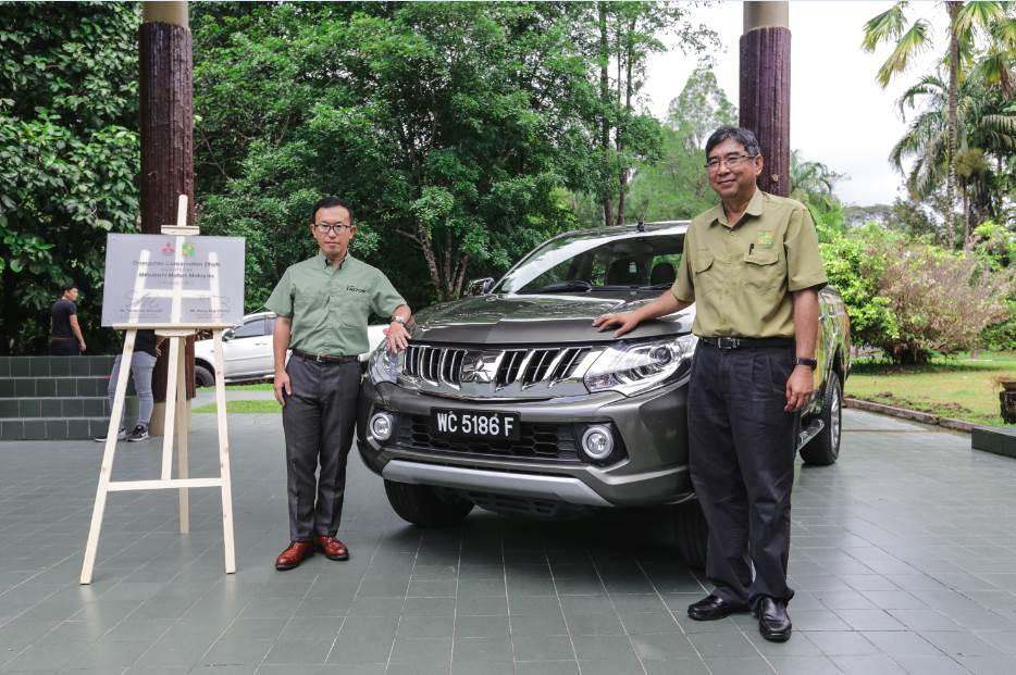 The Mitsubishi Triton to be used mainly for Orangutan Conservation Efforts